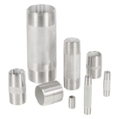 Stanless steel nipple fittings