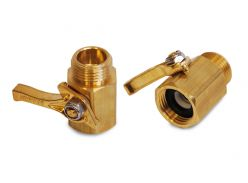 Brass Dramm Shut-Off Valve #300