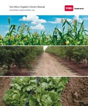 Toro Micro-Irrigation's Drip Irrigation Owner's Manual Cover